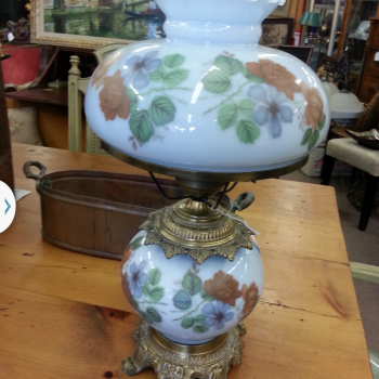 Vintage Gone with the Wind Table Lamp