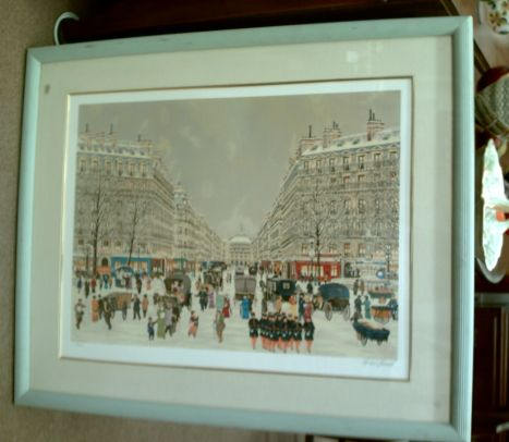 Signed & Numbered Michel Hermel Print