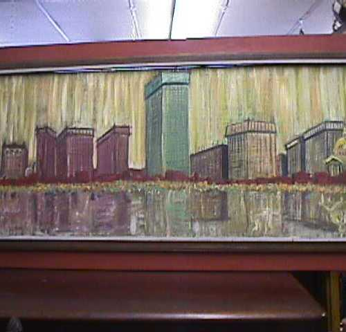 Large Oil Painting Signed Berberian