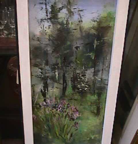 Oil on Board Painting Signed Lambrie