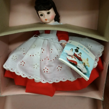 Madame Alexander doll vintage new in box Jo