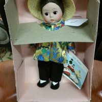 Madame Alexander doll vintage new in box china 572