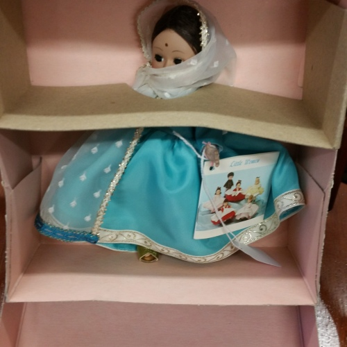Madame Alexander doll vintage new in box India 575