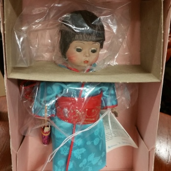 Madame Alexander doll vintage new in box japan 570