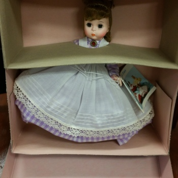 Madame Alexander doll vintage new in box marme 415