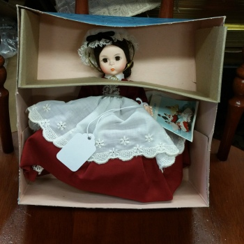 Madame Alexander doll vintage new in box Meg 414