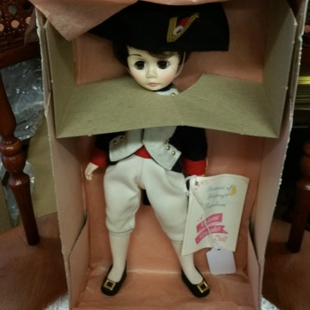 Madame Alexander doll vintage new in box Napoleon 1330