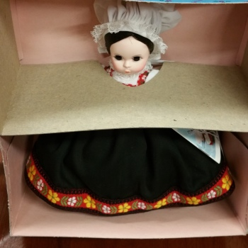 Madame Alexander doll vintage new in box norway 584
