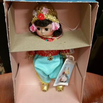 Madame Alexander doll vintage new in box Thailand 567