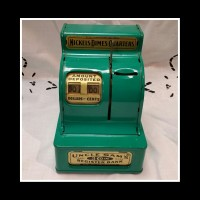 Vintage Uncle Sam's 3 coin Regsitry Bank